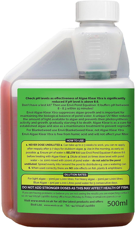 Envii Algae Klear Xtra - Alguicida para Algas sumergidas - 500ml: Amazon.es: Productos para mascotas