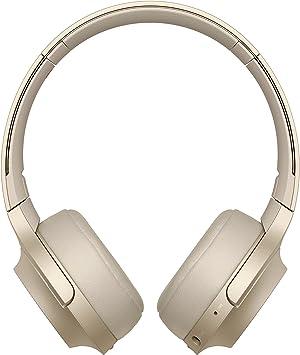 Sony WHH800 - Auriculares de Diadema inalámbricos con Bluetooth, Beige: Amazon.es: Electrónica