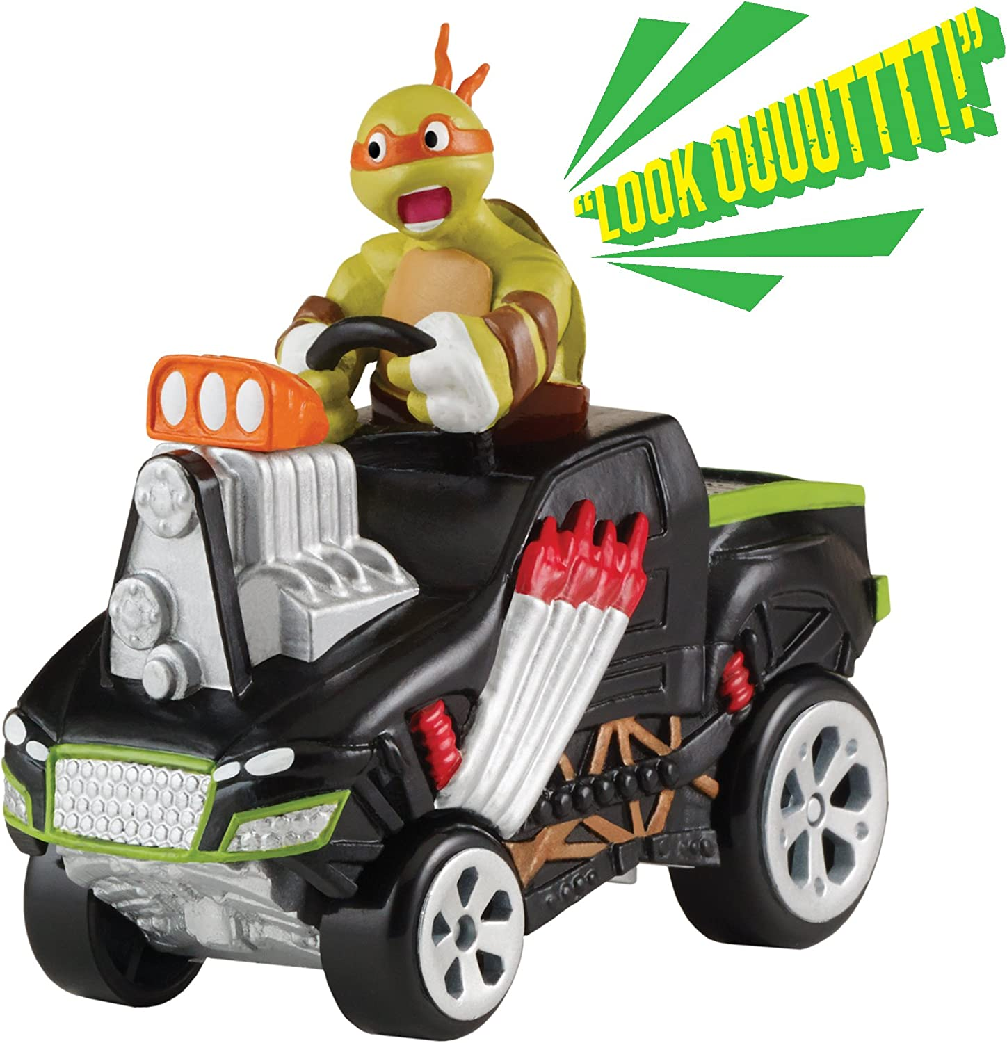 Teenage Mutant Ninja Turtles T-Machines Extreme Monster Truck with Michelangelo Vehicle with Sound