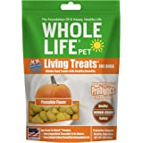 Whole Life Pet Living Treats Freeze Dried Probiotic Treats for Dogs Digestive Pumpkin Blend 3oz