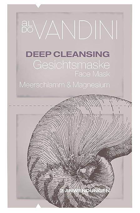 aldo Vandini de limpieza profunda mascarilla de barro del Mar y el magnesio, el paquete