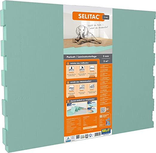 Selitac Parquet And Laminate Underlay 5 Mm By Selit Amazon Com