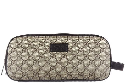b7c914e33 Gucci neceser de viaje hombres nuevo necessaire gg supreme negro:  Amazon.es: Zapatos y complementos