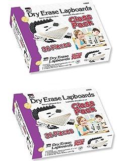 Amazon.com: Pizarra Charles Leonard borrado en seco, paquete ...