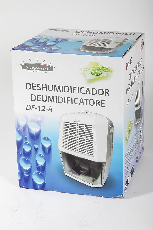 41 Decibeles Kayami DF 12-A Deshumidificador dom/éstico 200 W