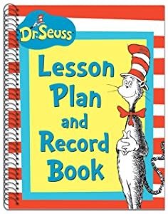 Eureka Dr. Seuss Back to School Classroom Supplies Record and Lesson Plan Book for Teachers, 8.5'' x 11'', 40 Weeks