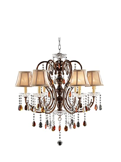 Amazing kitchen light fixture canprovide additional accents Cage Image Unavailable Image Not Available For Elle Decor Amazoncom Ok Lighting Golden Brown Ceiling Lamp Home Kitchen