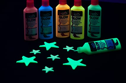 Tulip 28392 Dimensional Glow Party Kit Fabric Paint Multi