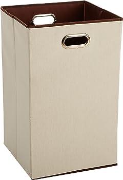 AmazonBasics Foldable Laundry Hamper