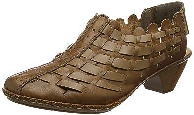 Rieker 46778 - 22 Noce (Brown) Womens Shoes 10 US
