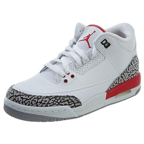 Jordan Zapatillas de Baloncesto para niños 6.5 Mediano de EE.UU. Gris: Amazon.es: Zapatos y complementos