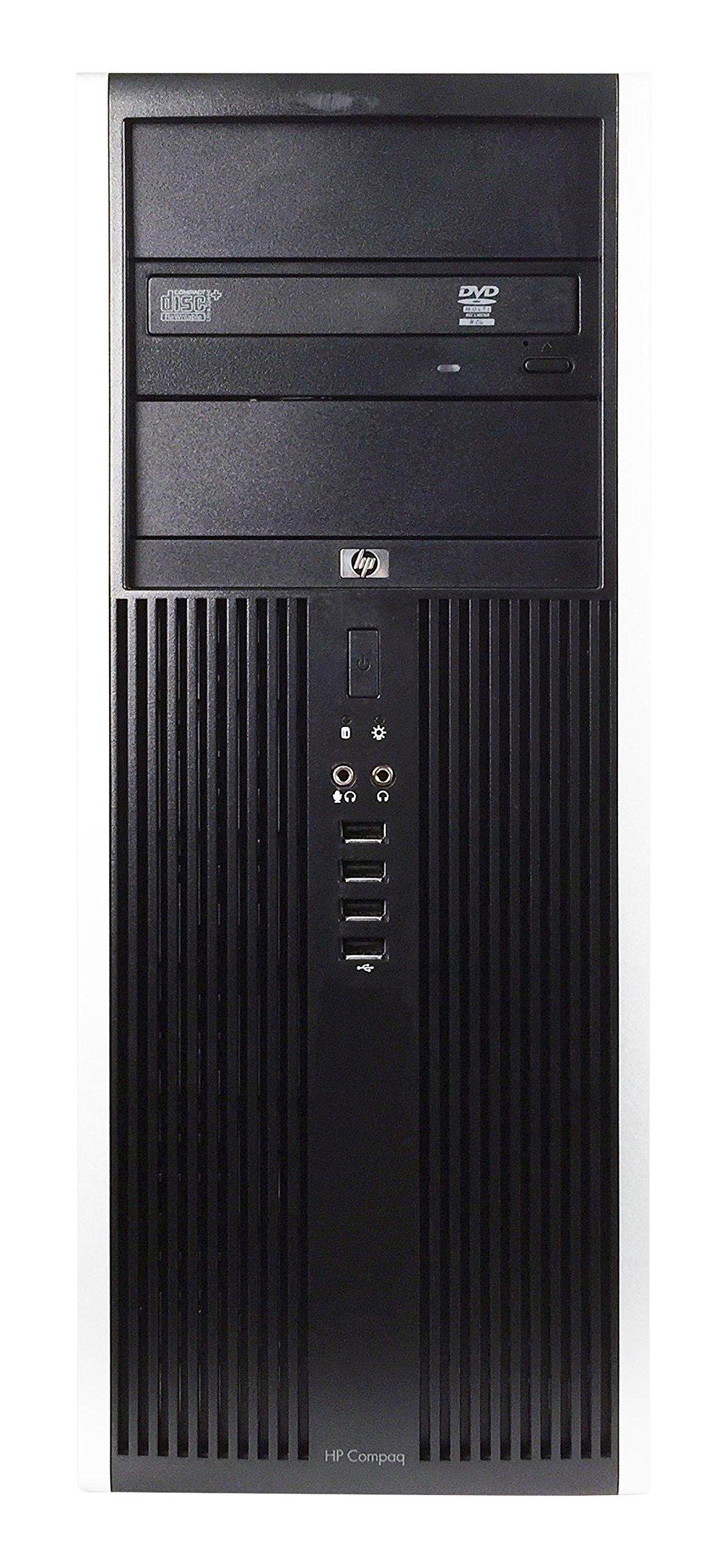 HP 8100 Business High Performance Tower Desktop Computer PC (Intel Core i5 650 3.2G,4G DDR3,250G,DVD,Windows 10 Professional) - Black/Silver - 16VFHPDT0514