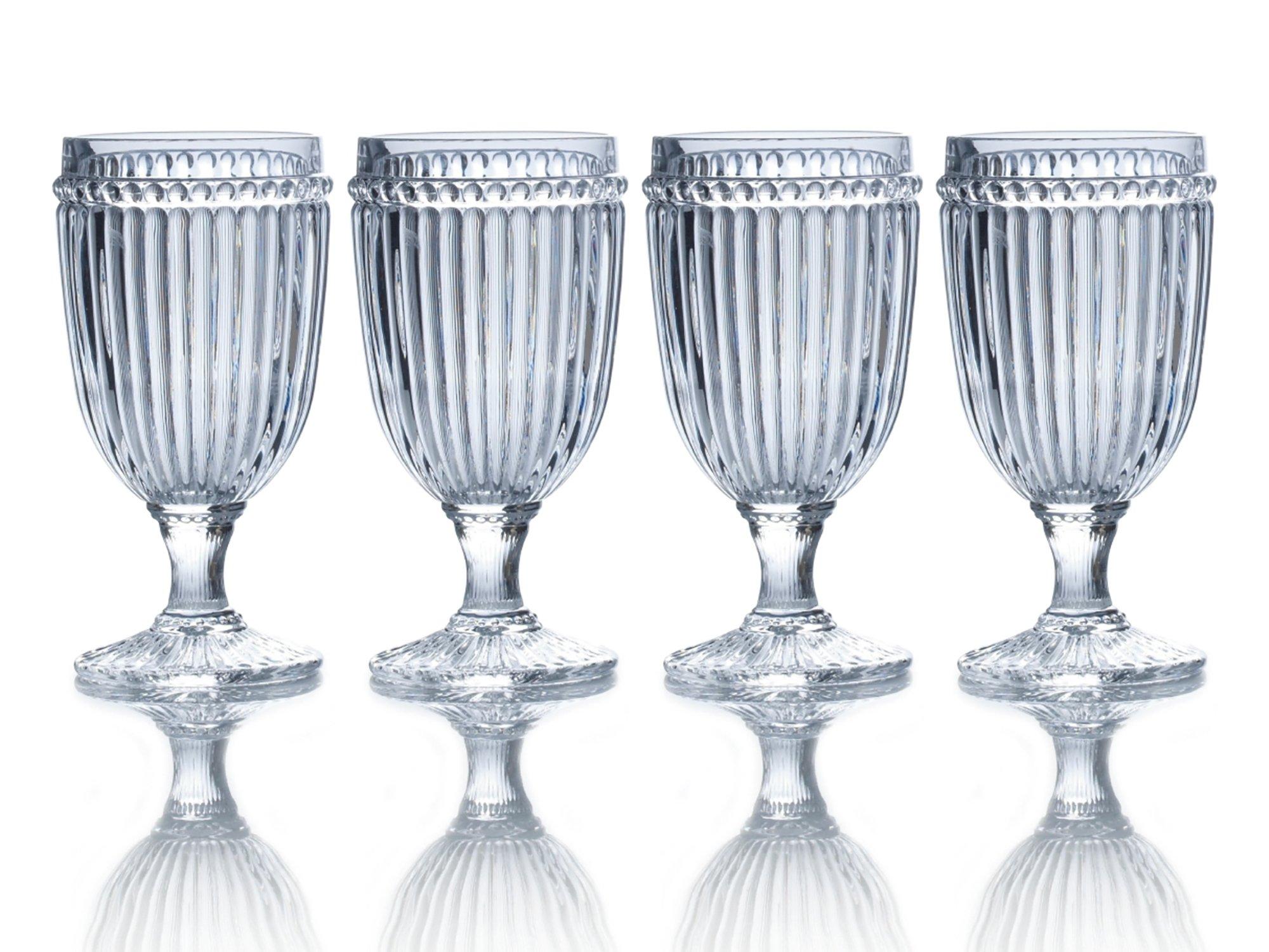Mikasa Italian Countryside Iced Beverage Glass, Clea. 13-Ounce, Set of 4