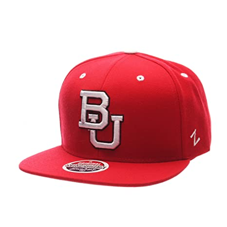 designer fashion 2295c 9e49d Image Unavailable. Image not available for. Color  Zephyr Men s Boston  University Terriers Z11 ZWOOL HAT ...