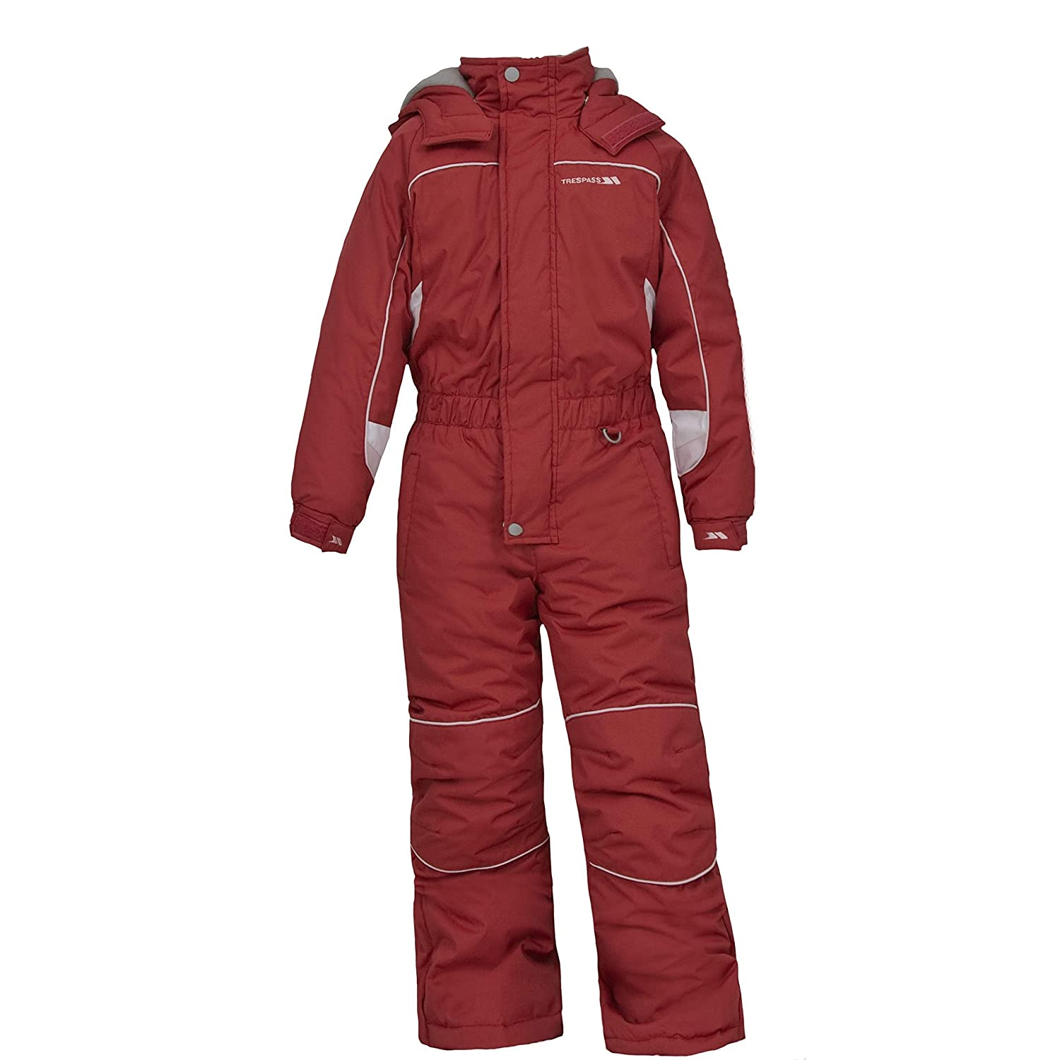 Trespass Childrens Unisex Laguna Zip Up All In One Ski Suit