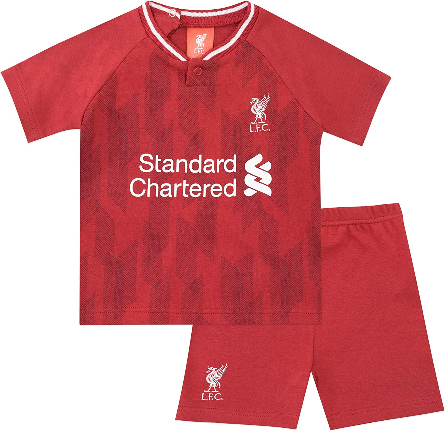 Baby Boys Football Club Top and Shorts Liverpool F.C