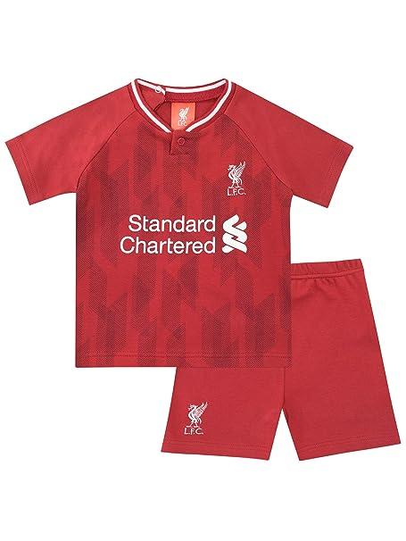 af0401dbb Liverpool F.C. Camiseta y Pantalones Cortos para Niños Bebés Football Club   Amazon.es  Ropa y accesorios