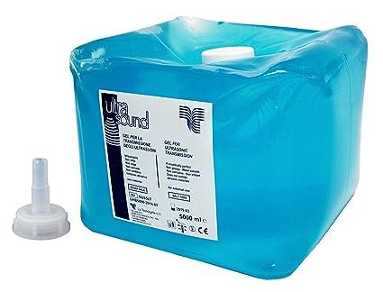 Tecnocarta gus ltsp gel ultrasuoni con beccuccio per travaso