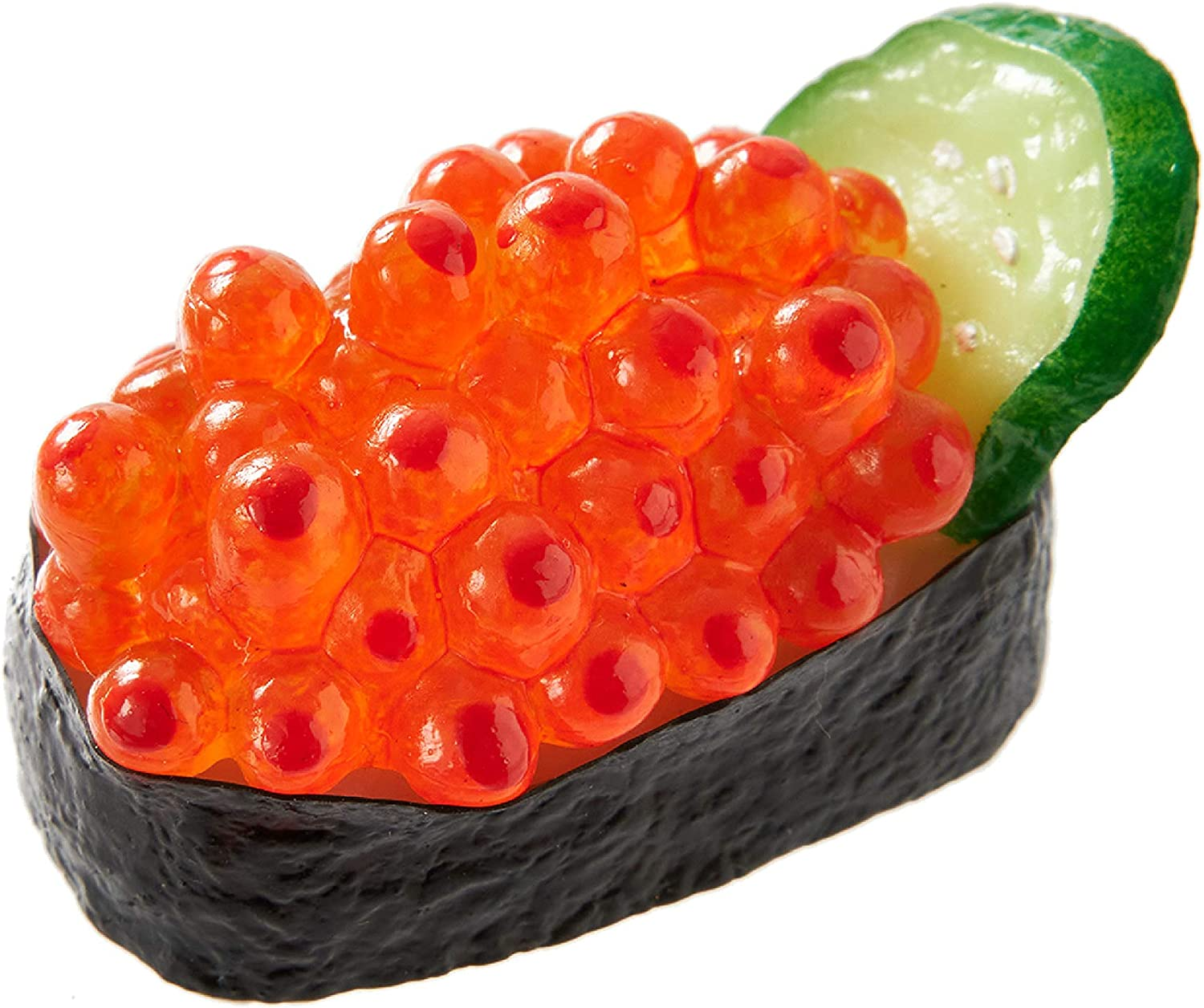 Sushi Magnet (1 pack: Salmon Roe) Realistic, food replicas made by the experts/A great gift for people who like sushi and novelty/For refrigerators, whiteboards/ 20 kinds in total