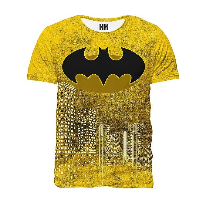 Noorhero Camiseta de Hombre - Batman Yellow cy3CTqk