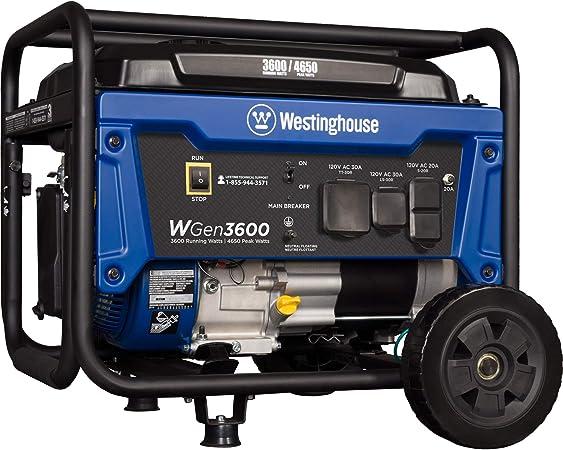 Amazon.com: Westinghouse WGen2000Generador portá ...