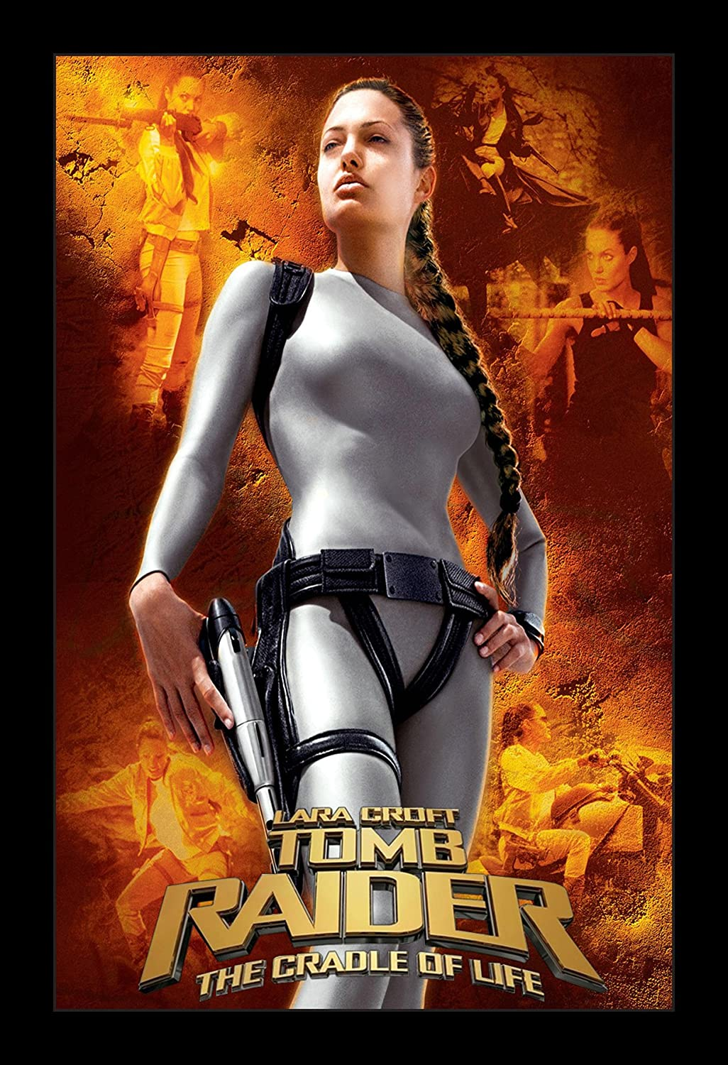 Lara Croft Tomb Raider The Cradle for Life - 11x17 Framed Movie Poster by Wallspace