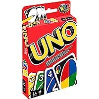 Mattel Games W2087 UNO Kartenspiel, geeignet für 2 - 10 Spieler, Spieldauer ca. 15 Minuten, ab 7 Jahren