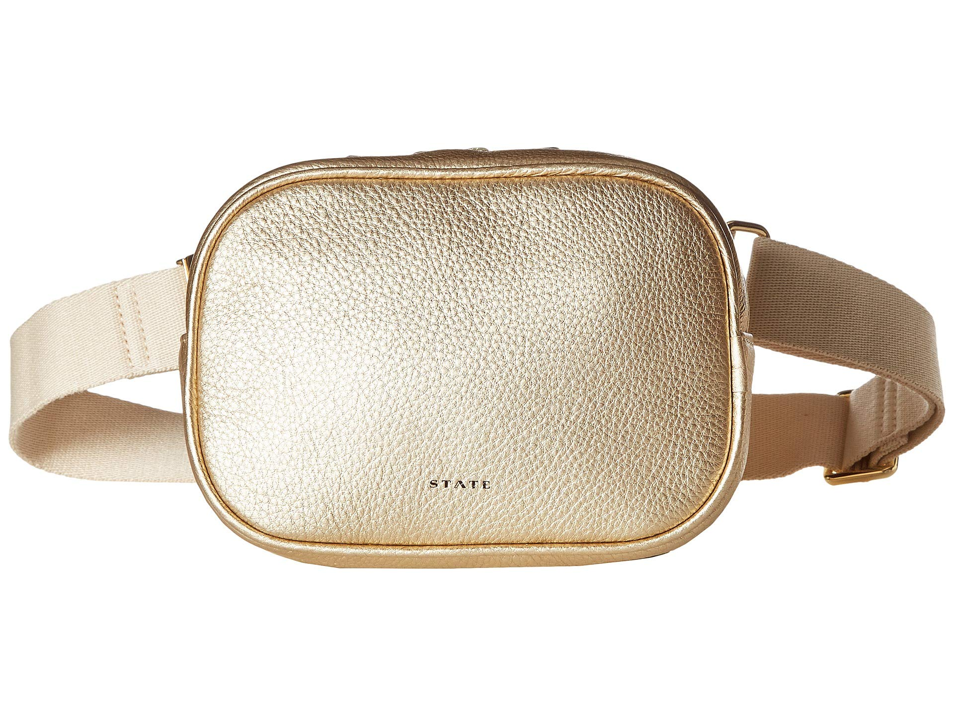 STATE Bags Women's Crosby Fanny Pack Gold One Size