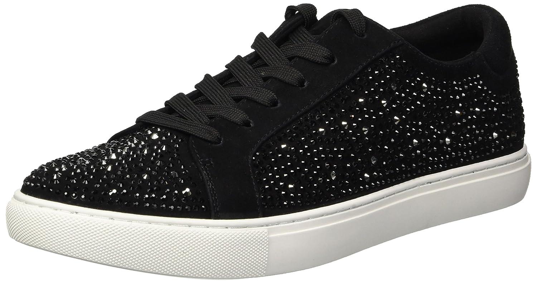 Kenneth Cole New York Women's Kam Shine Lace-up Embellished Sneaker B079JZ41F5 8.5 B(M) US|Black