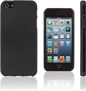 Xcessor Vapour Flexible TPU Case for Apple iPhone SE 5 5S. Black