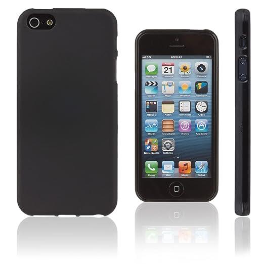 2 opinioni per Xcessor Vapour Flessibile TPU Gel Custodia per Apple iPhone SE 5 5S. Nero