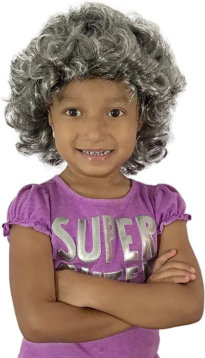 Amazon.com  KINREX Queen Elizabeth Wig - Wigs for Adults 382dbb3edec6