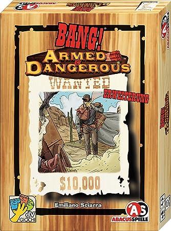 Abacusspiele 38181 Bang! Armed & Dangerous - Juego de Cartas (en alemán): Sciarra, Emiliano: Amazon.es: Juguetes y juegos