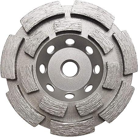 "5//8/"" 11 Threads 5"" Double Row Concrete Diamond Grinding Cup Wheel"