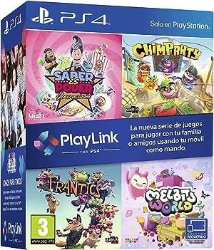 Pack Playlink: Saber es Poder + Chimparty + Frantics + Melbits ...