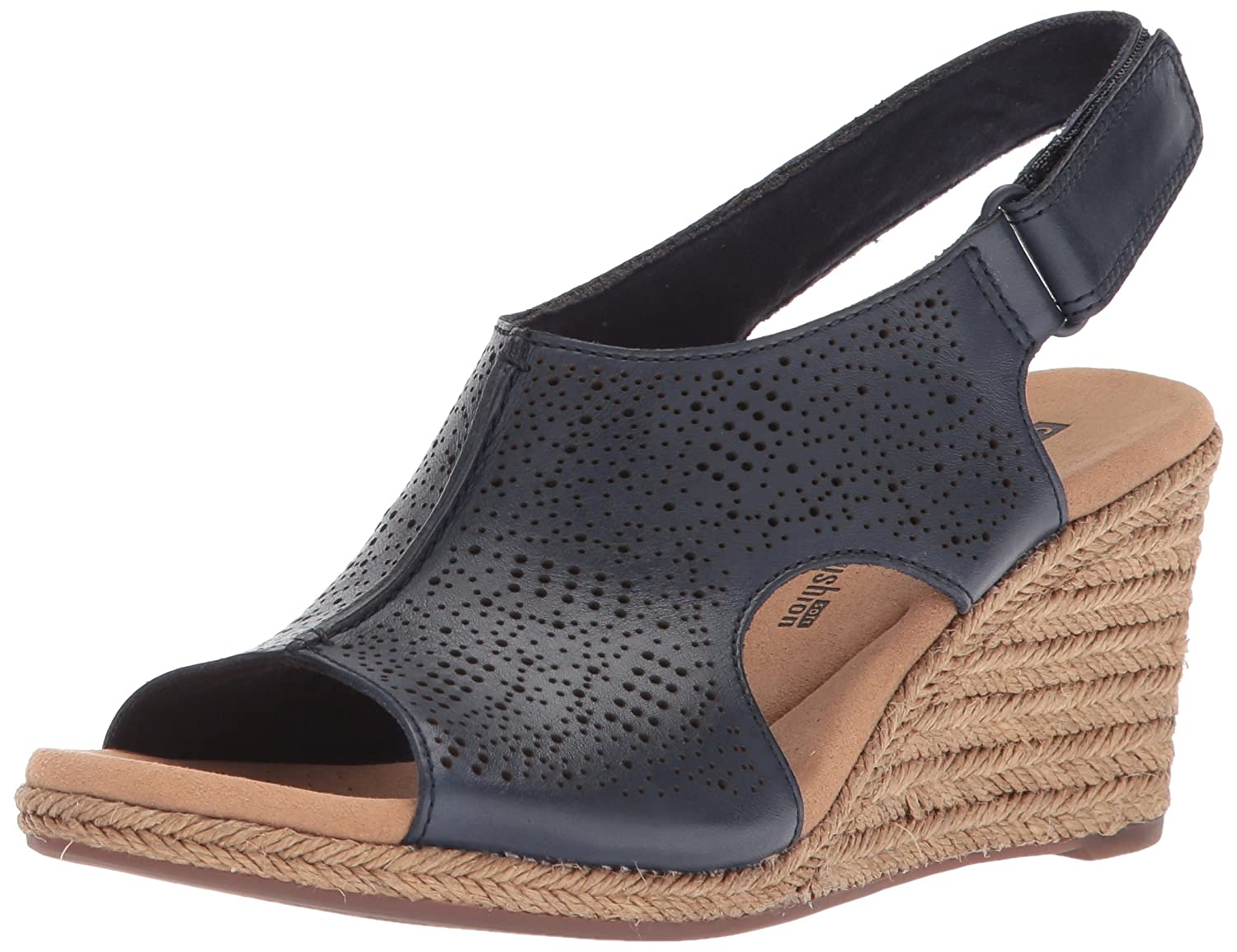 b0ef9a468c03 Clarks Womens Lafley Rosen Platform   Wedge Sandals  Amazon.ca  Shoes    Handbags