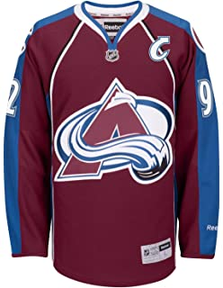 Reebok Gabriel Landeskog Colorado Avalanche NHL Burgundy Official Premier  Home Jersey Men f5be63081