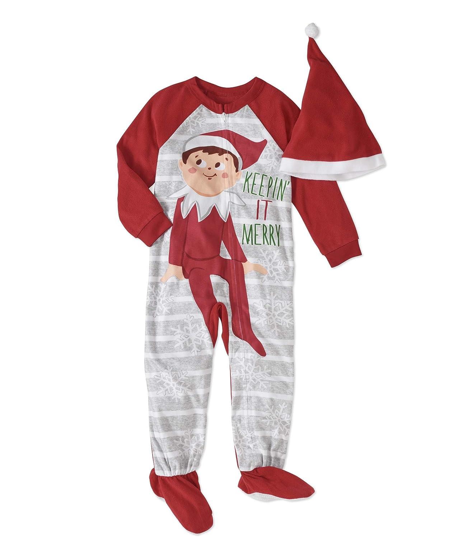 f4f4b4fd2 Amazon.com  Elf On The Shelf Toddler Boys  or Girls  Unisex Sleeper ...