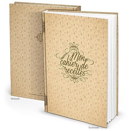 Grand Livre De Recettes Xxl Vintage A Completer Personnaliser Ou A Offrir A Un Amateur De Cuisine Cadeau Pour Elle Maman Mamie Soeur Format A4 164