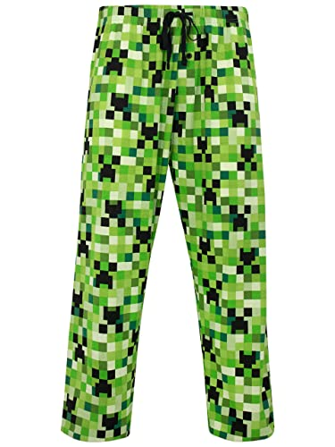 Minecraft Mens' Minecraft Lounge Pant Size Medium