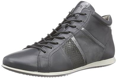 Touch Sneaker, Damen Hohe Sneakers, Grau (Dark Shadow/Dark SHADOW56586), 41 EU (7.5 Damen UK) Ecco