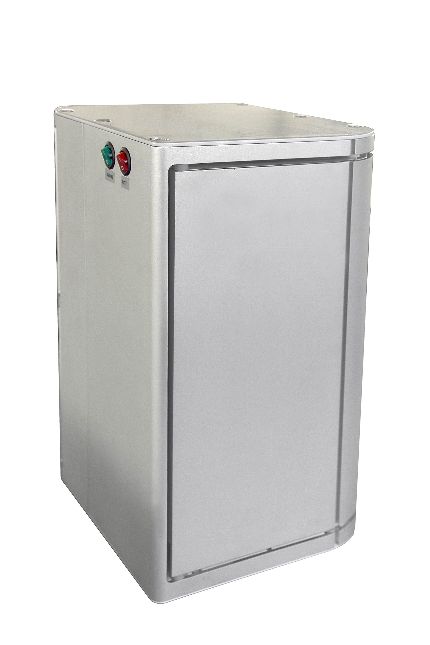 ELITE-12 pc Aluminum Hot Towel Cabinet w/ UV Sterilizer