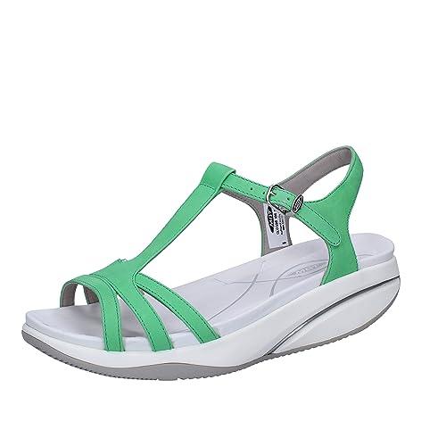 48314091 MBT Sadiki W, Sandalias de Gladiador para Mujer: Amazon.es: Zapatos y  complementos