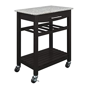 Marvelous Dorel Living Granite Top Kitchen Cart