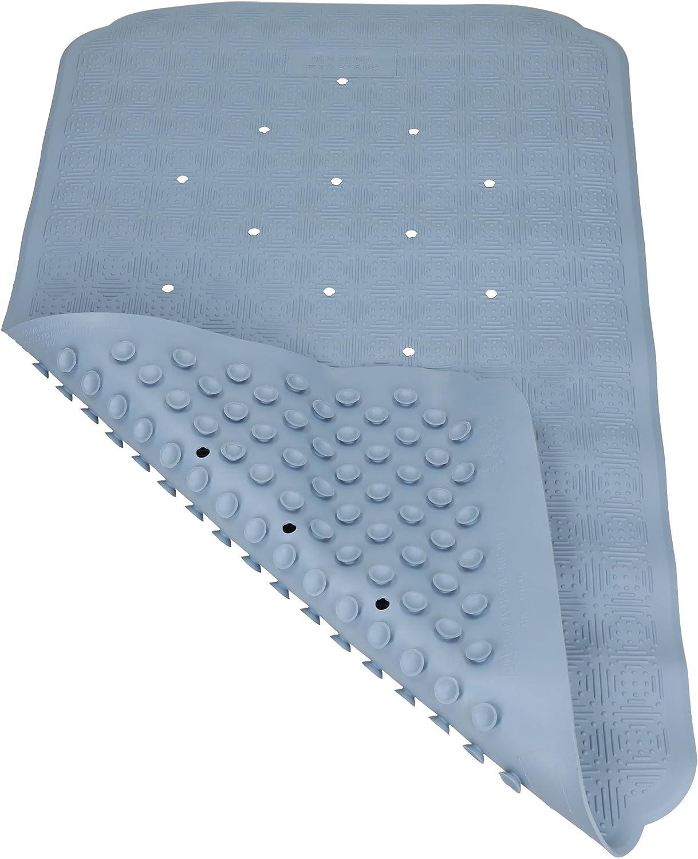Betz Wanneneinlage Duschmatte Cairo rutschfeste Naturkautschuk Gr/ö/ße 40x70 cm Farbe blau