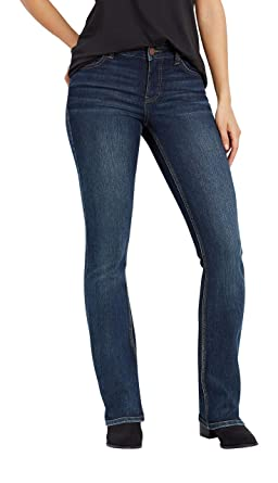 c6fb56dbaf3e51 maurices Women's Boot Cut Jean - Everflex Dark Wash Mid Rise at ...