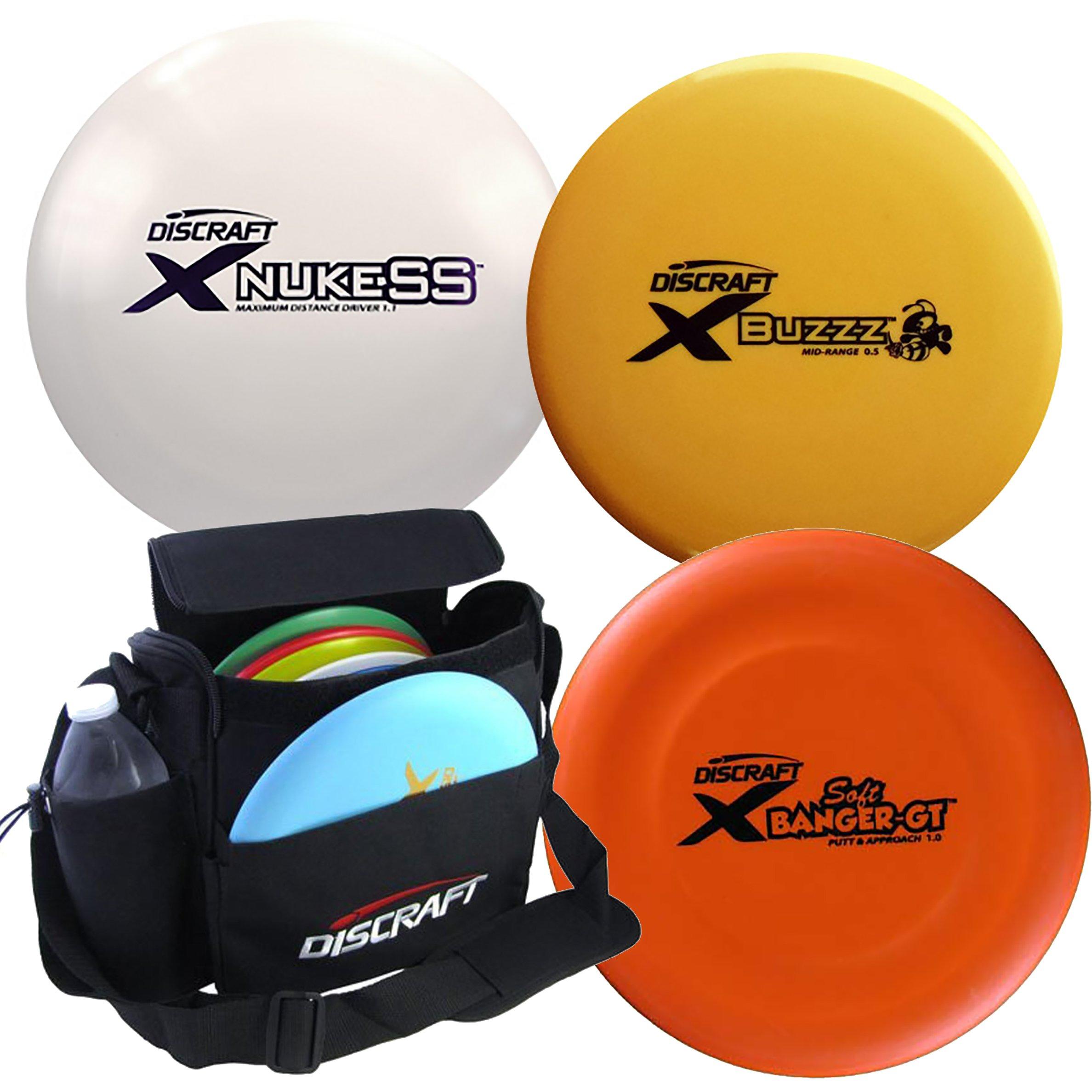 Discraft Disc Golf X Line Starter Package by Discraft
