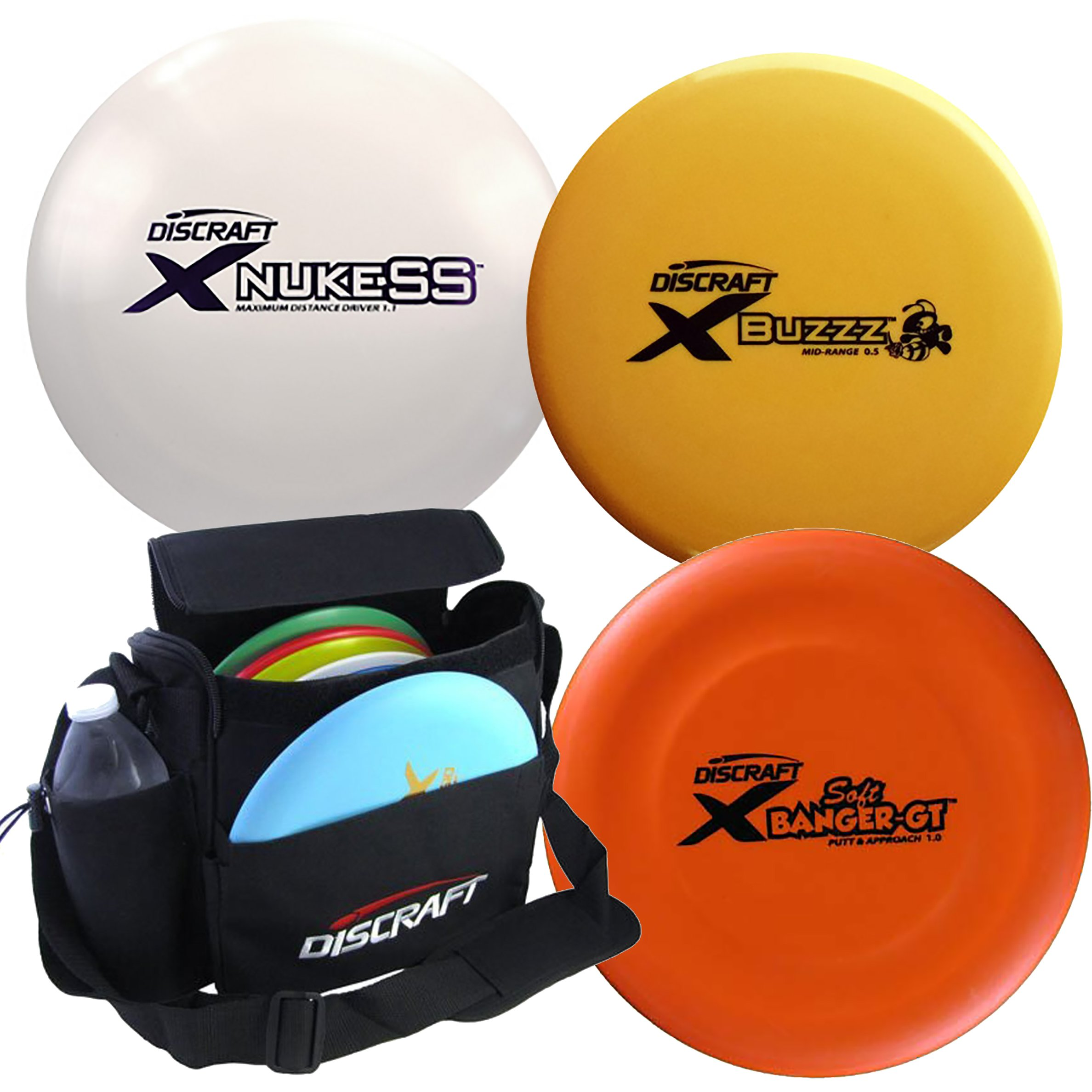Discraft Disc Golf X Line Starter Package