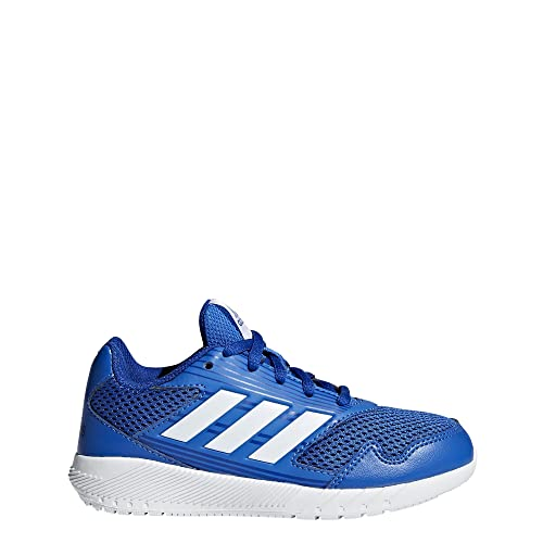 buy popular a11e7 16496 adidas Kids  AltaRun CF I, Blue White Collegiate Royal, 4K M