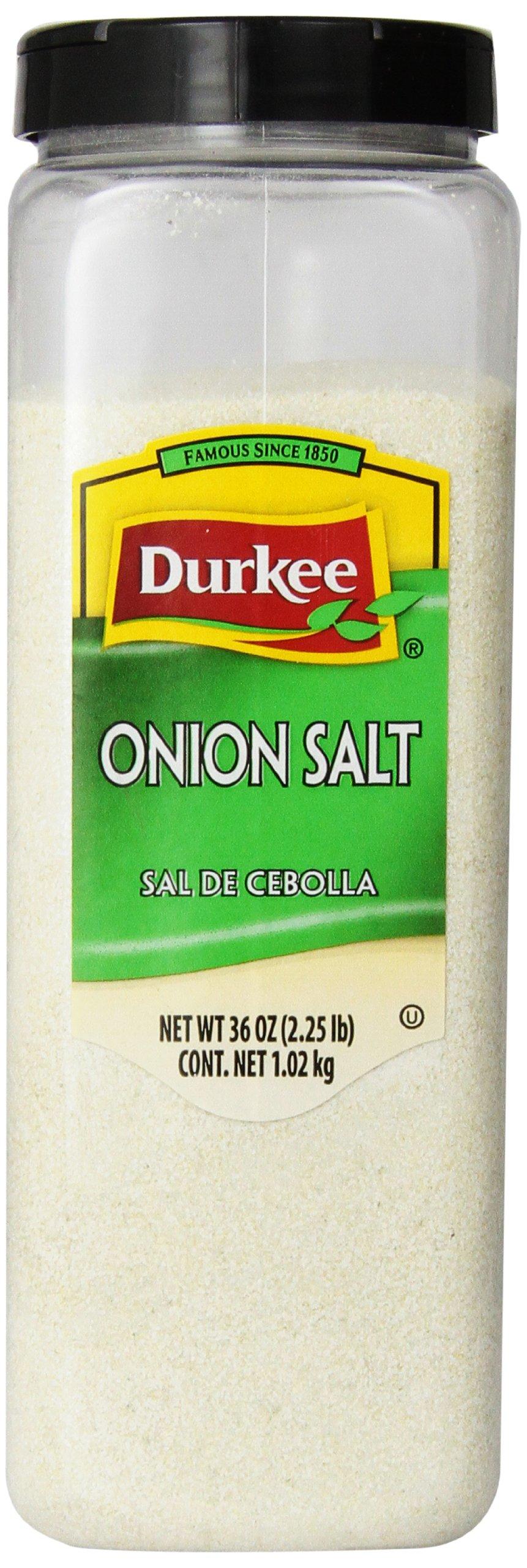 Durkee Onion Salt, 36-Ounce (Pack of 6)